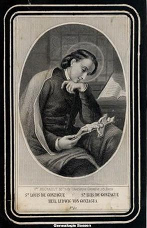 bidprentje  Eugenia Albertina Joanna Sassen - afbeelding Nederlands