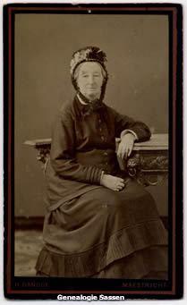 portretfoto Jonkvrouwe Thérèse Françoise van Panhuys
