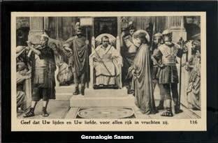 bidprentje Leonie Sassen (afbeelding)