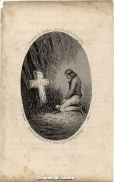 bidprentje Jacobus Victor Alexander Sassen (afbeelding)