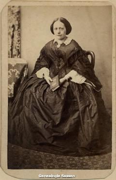 portretfoto Antoinetta Wilhelmina Johanna Sassen