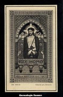 bidprentje Vincentius Antonius Hubertus Panhuysen (afbeelding)