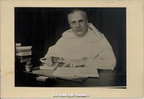bidprentje Dr. Jan Hendrik Hubert Sassen O.P. (afbeelding)