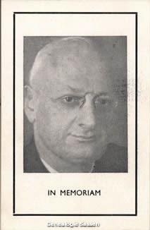 bidprentje Hendrikus Josephus Hubertus Willem Sassen O.P. (foto)