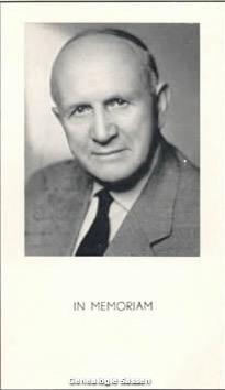 bidprentje Jan Coenraad Hubert Marie Wilhelmus Sassen (foto)