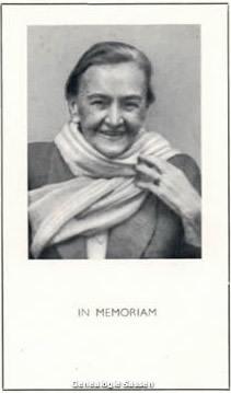 bidprentje Johanna Margaretha Maria van Bavel (foto)