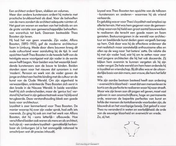 bidprentje Theodoor Hubert Alphonse Boosten (tekst)