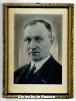 portretfoto Ir Johan Rudolph Sassen