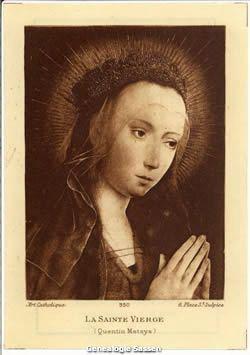 bidprentje Wilhelmine Caroline Clementine Sassen (afbeelding)
