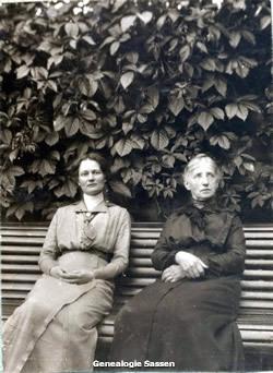 Clementine met haar moeder
