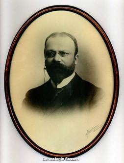 portretfoto Ir Ferdinand George Henri Auguste Sassen
