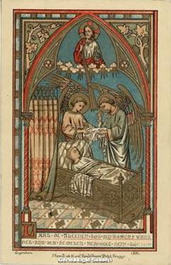 bidprentjes Joseph Ferdinand Egbert Sassen (afbeelding - Frans)