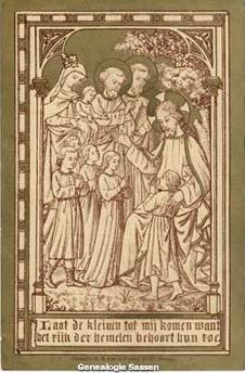 bidprentjes Joseph Ferdinand Egbert Sassen (afbeelding - NL)