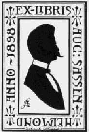ex-libris August Hendrik Sassen