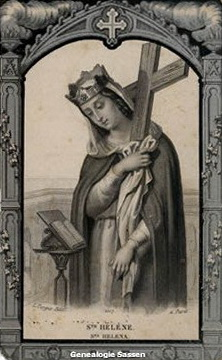 bidprentje Mathilda Anna Sassen (afbeelding)