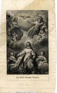 bidprentje  Henricus Albertus Joannes Michael Beekman (afbeelding)