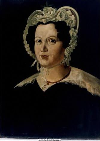 portret Henrica Francisca van der Monde