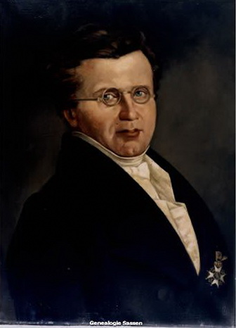 portret mr. Jan Hendrik Sassen