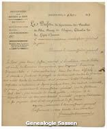 brief Com.Gen.Marivaux 8 dec 1813 (origineel)