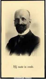 bidprentje Lodewijk Albert Sassen (afbeelding)