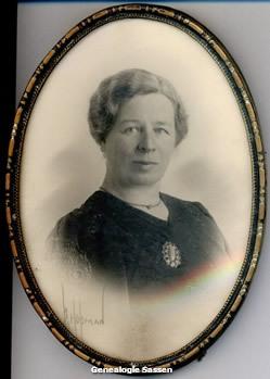 portretfoto Theodora Johanna Alla de Lange