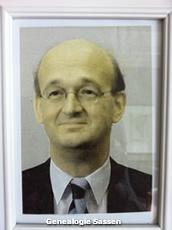 portretfoto Mr. Rudolph Karel Clemens Sassen
