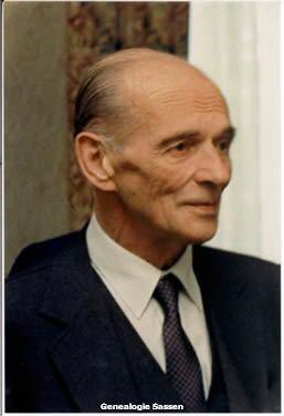 bidprentje Mr. Ferdinand Karel Rudolf Clemens Sassen (foto)