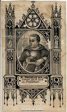 bidprentje Anna Maria Elisabeth Sassen (afbeelding)