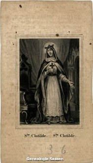 bidprentje Antonia Maria Sassen (afbeelding)