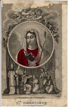bidprentje Johanna de Kleyn (afbeelding)