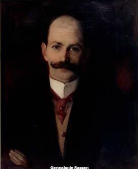 portret Josephus Franciscus Maria Sassen,  Anton van Welie,  doek
