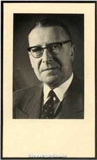 bidprentje Jan Hendrik Sassen (foto)