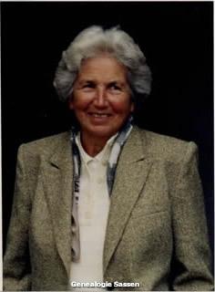 bidprentje Virginie Maria Louisa Sassen (foto)