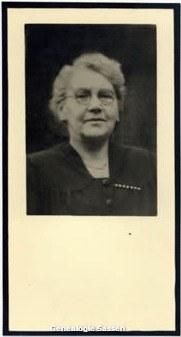 bidprentje Maria Coleta Ludovica van Weel (foto)