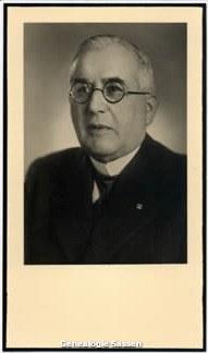 bidprentje Mr. George Marie Hubert Sassen (foto)