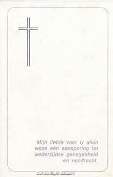 bidprentje Anna Maria Catharina Sassen (afbeelding)