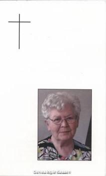 bidprentje Josephina Maria van Soest (afbeelding)