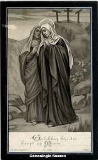 bidprentje Maria Anna Elisabeth Sassen (afbeelding)