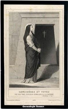 bidprentje Marie Cécile Josephine Gislène Dubois (afbeelding)