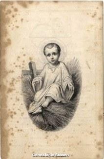bidprentje mr. Leonardus Jacobus Sassen (afbeelding)