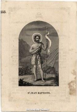 bidprentje Maria Anna Sassen (afbeelding)