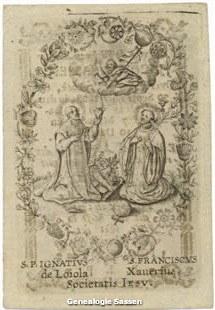 bidprentje Jacubus Sassen (afbeelding)