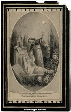 bidprentje Maria Cornelia Aarts (afbeelding)