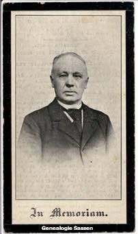 bidprentje Josephus Regnerus Sassen-Clingh (afbeelding)