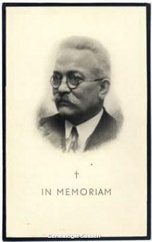 bidprentje Theodoor Hubert Lemmens (foto)