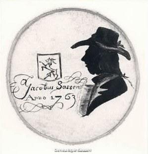 Portret van Jacobus Sassen 1707-1773